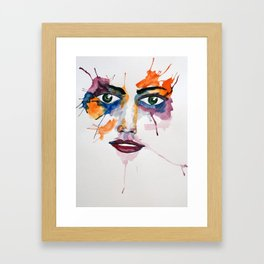 Grl II Framed Art Print