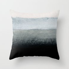 shades of grey Throw Pillow
