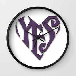 Prince YES LoveSexy Wall Clock