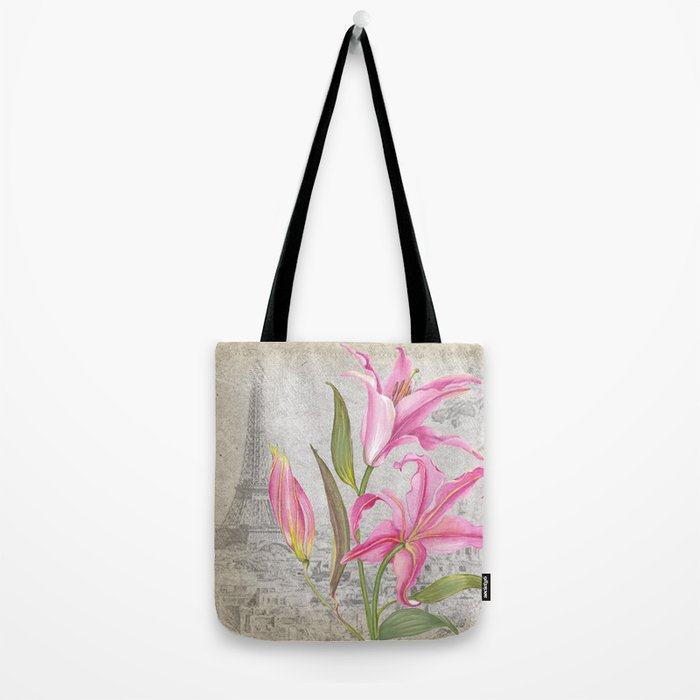 Macro Flower #6 Tote Bag