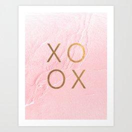 XOXO - sea of love Kunstdrucke
