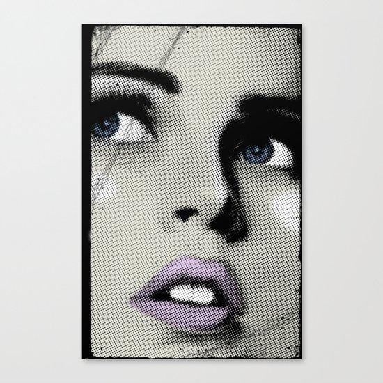 Pop Glance Canvas Print