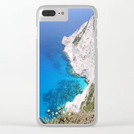 Kampi Cliffs Clear iPhone Case