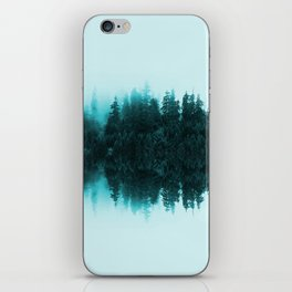 Cloudy Forest iPhone Skin