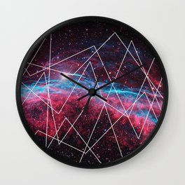 Outer Space 2 Wall Clock