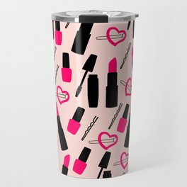 Cute Makeup Travel Mug