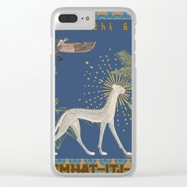 Book of Night & Day Clear iPhone Case
