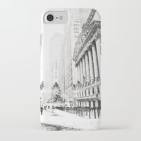 new york city iPhone & iPod Cases featuring New York City Christmas by Vivienne Gucwa