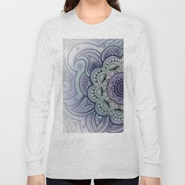 Mandala Violet Long Sleeve T-shirt