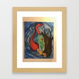 Loss, Beauty, & Magic Framed Art Print