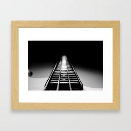 Bass Tracks Framed Art Print