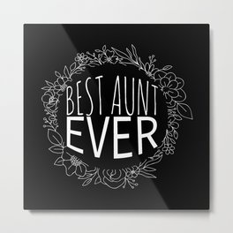 Aunt Metal Print