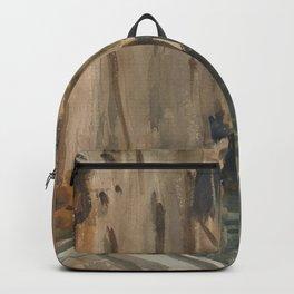 John Singer Sargent - Rio di San Salvatore, Venice Backpack