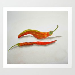 Red Hot ChiliPeppers Art Print