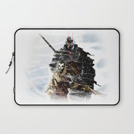 Cold world- Whiteout Laptop Sleeve