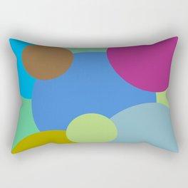 Circles of life Rectangular Pillow