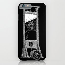 hungry guillotine iPhone Case