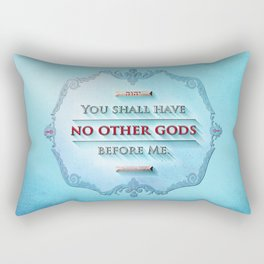 EXODUS 20:3 Rectangular Pillow