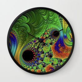 What If Its All About The Vibes Wall Clock