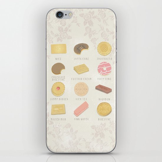 BISCUITS  iPhone & iPod Skin