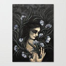 Flowering self Canvas Print