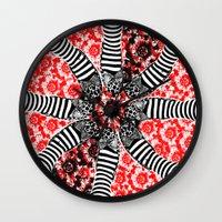 oz Wall Clocks featuring Oz. by ChristyVegas