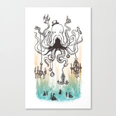 Octoluminary Canvas Print