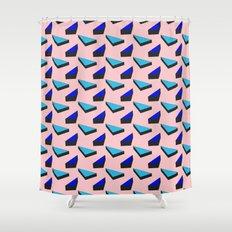 Geometric Candy Shower Curtain