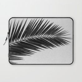 Palm Leaf Black & White I Laptop Sleeve