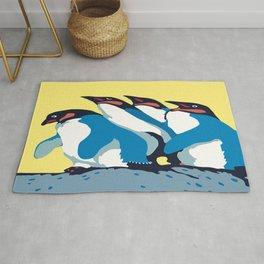 Four Penguins Rug