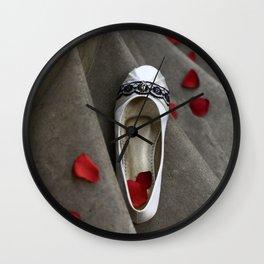 wedding shoes Wall Clock