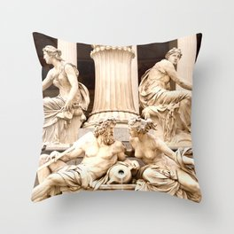 Beautiful Sculptures #decor #society6 #buyart Throw Pillow