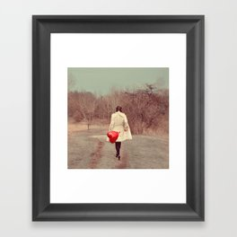 You've Gotta Have Heart Framed Art Print