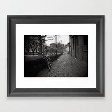 Trastevere Street Framed Art Print