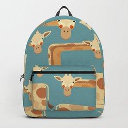 Giraffe, Animal Portrait Backpack