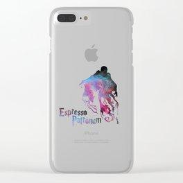 espresso patronum Clear iPhone Case