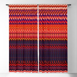 Rag Weave by Chris Sparks Blackout Curtain