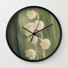 Scents of Spring - Lily of the Valley iii Wall Clock