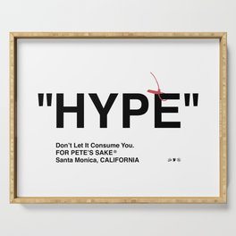 """HYPE"" Serving Tray"