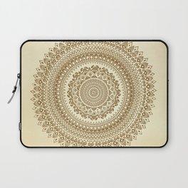 """Henna inspired"" Mandala Illustration Laptop Sleeve"