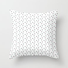 Watercolor´s dots Throw Pillow