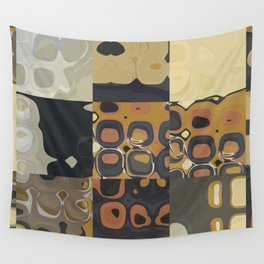 Mid Century Modern PATTERN Abstract Geometric Prints by Michel Keck Wall Tapestry