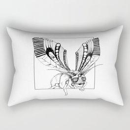 Lazy moth Rectangular Pillow