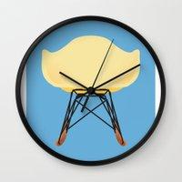 eames Wall Clocks featuring Eames RAR by Life is good !