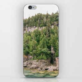 Green and Rocks iPhone Skin