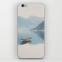 boat reflections ... iPhone Skin