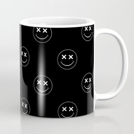 emoji smiley face pattern Coffee Mug