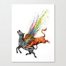 Kill Monotony Canvas Print