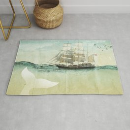 white tail, Moby Dick Rug