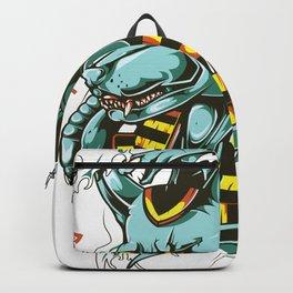 Anubis Illustration Japanese Type Backpack